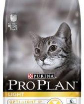 Pro Plan Premium Cat Food Light with Opti-Light Rich in Turkey / 3kg