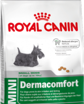 Royal Canin Dry Dog Food Mini Dermacomfort 2kg