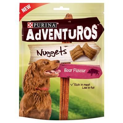Purina Adventuros Dog Treats - Boar Flavour Nuggets 90g