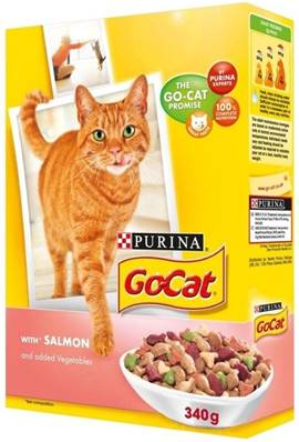 Go Cat Complete Dry Food Adult with Salmon & added Vegetables / 340g