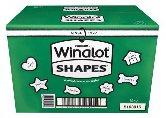 Winalot Shapes Dog Biscuits - 15kg
